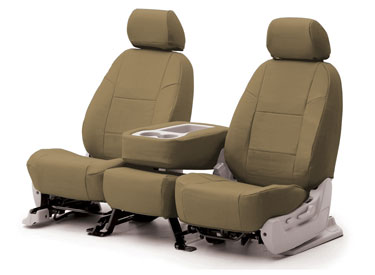 Custom Seat Covers Genuine Leather for 2007 Toyota Corolla Sedan