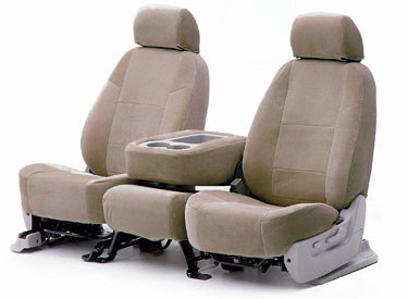 Custom Seat Covers Suede for 2007 Toyota Corolla Sedan