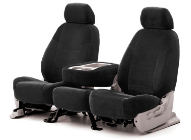 Custom Seat Covers Velour for 2007 Toyota Corolla Sedan