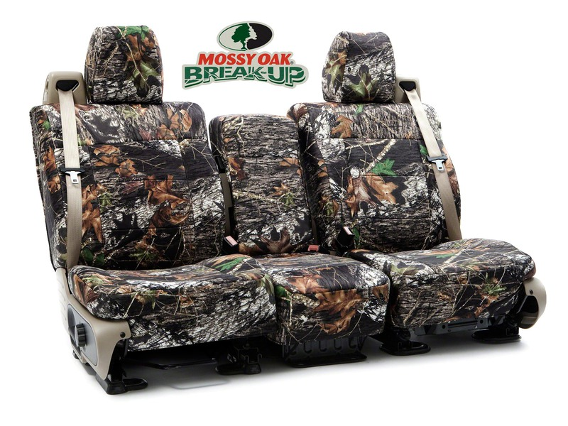 Custom Seat Covers Mossy Oak Camo for  Tesla